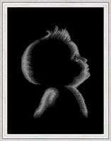 Рисунок на ткани бисером БЛАГОВЕСТ арт.К-3059 Малыш 28х38 см