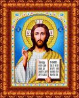 Набор для вышивания бисером КАРОЛИНКА арт. КБИН-4024/3(ч) Господь вседержитель 18х24,5 см